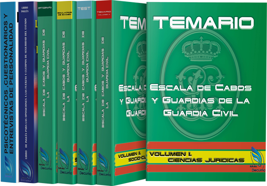 Pack Completo Guardia Civil