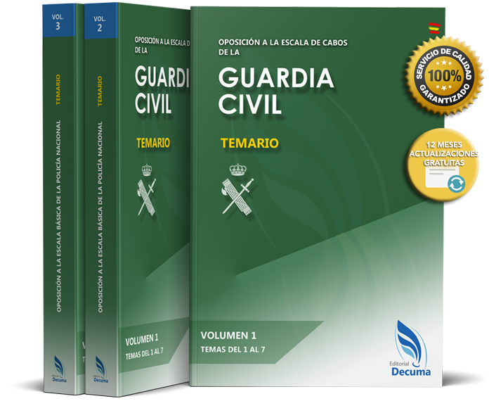 Guardia Civil Temario Completo Guardia Civil